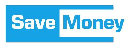 Save money banner